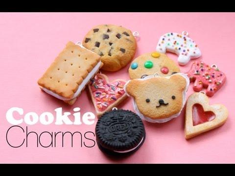 Tuto Fimo : Petits biscuits parfumés