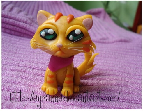 Tuto Fimo : Chat tigré