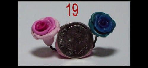 Tuto Fimo Rose
