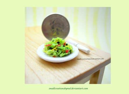 Tuto Fimo : Salade