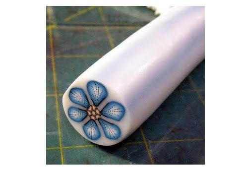 Tuto Fimo Cane Fleur Bleue