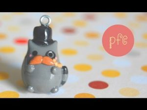 Tuto Fimo : Chat Pusheen à moustaches