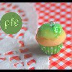Tuto Fimo : Cupcake vert