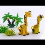 Tuto Fimo Girafe Cartoon