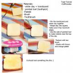 Tuto Fimo : Toast
