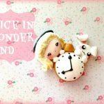 Comment faire Alice au pays des merveilles en fimo