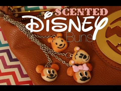 Comment faire des biscuits Disney parfumés en fimo ?
