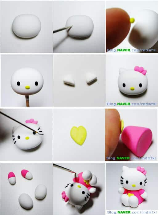 Tuto fimo personnage