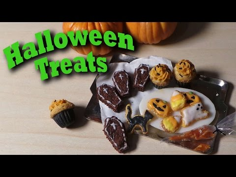Tuto Fimo : Biscuits d'Halloween