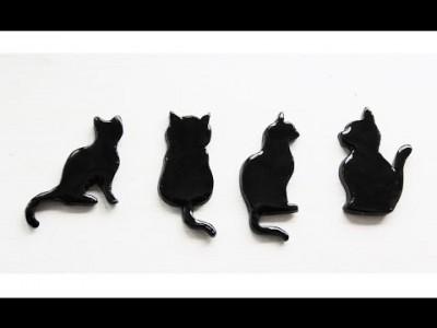tuto-fimo-chat-noir-magnet