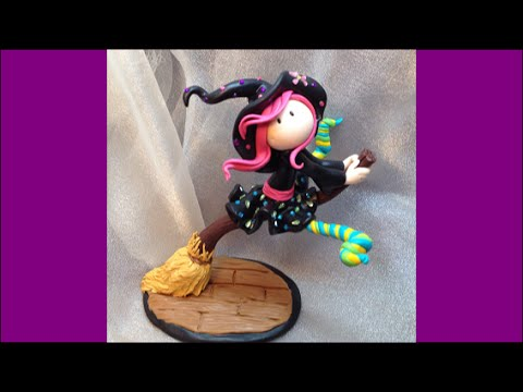 Tuto Fimo : Petite sorcière