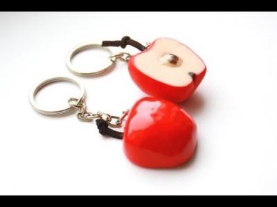 tuto-fimo porte clé saint valentin