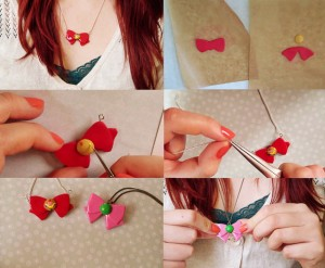 tuto-fimo collier sailor moon