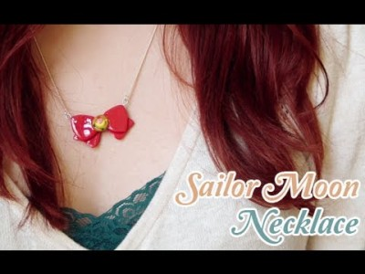 tuto-fimo collier sailor moon vignette
