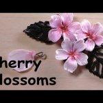 Faire une fleur de cerisier en fimo