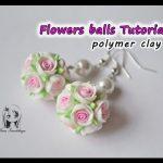 Tuto Fimo : Boucles d'oreille Ronde de fleurs