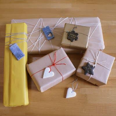 Tuto Fimo : Etiquettes pour cadeaux