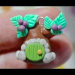 Tuto-Fimo : Arbre maison de printemps