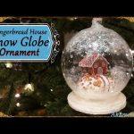 Tuto Fimo : Maison en pain d'épice sous un globe