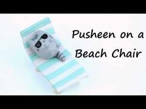 Tuto Fimo : Chat Pusheen en vacances