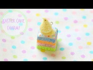 Tuto Fimo : Gâteau de Pâques
