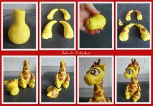 Tuto Fimo : Girafe