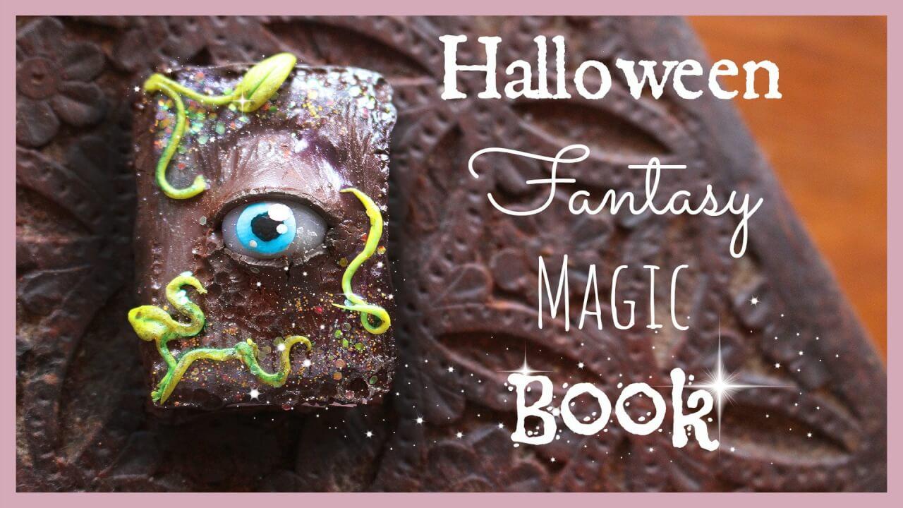 Tuto Fimo : Halloween Livre magique