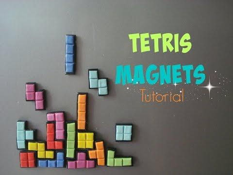 Tuto Fimo : Magnet Tetris
