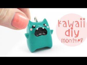 Tuto-Fimo : Monstre Kawaii