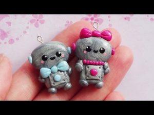 Tuto Fimo : Robots de Saint-Valentin