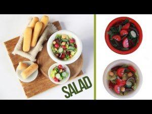 Tuto Fimo Salades composées