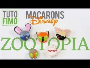 Comment faire des macarons inspirés de Zootopia