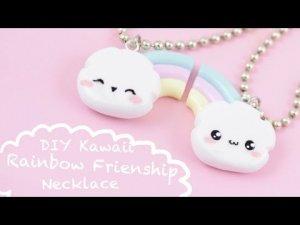 Un collier arc-en-ciel de l'amitié