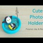Comment réaliser un porte photo pingouin