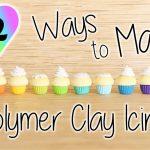 12 techniques de glaçage en fimo pour des cupcakes parfaits