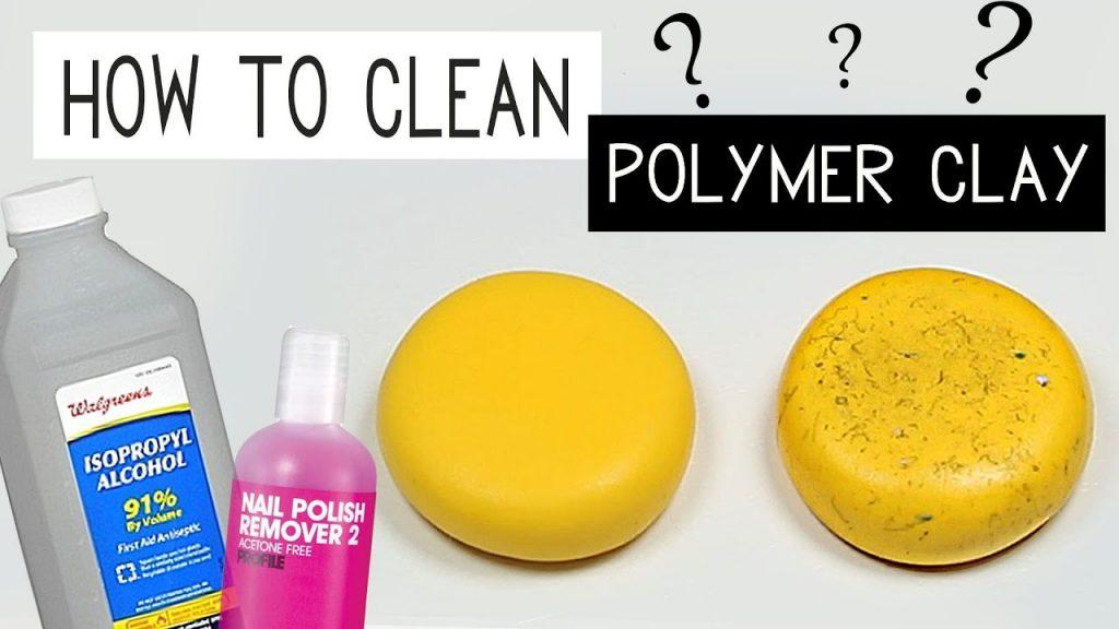 Comment enlever la poussière de la pâte fimo ?