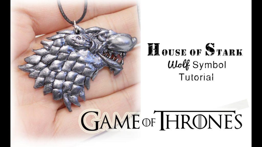 Comment faire le loup emblème des Stark de Game of Throne en fimo