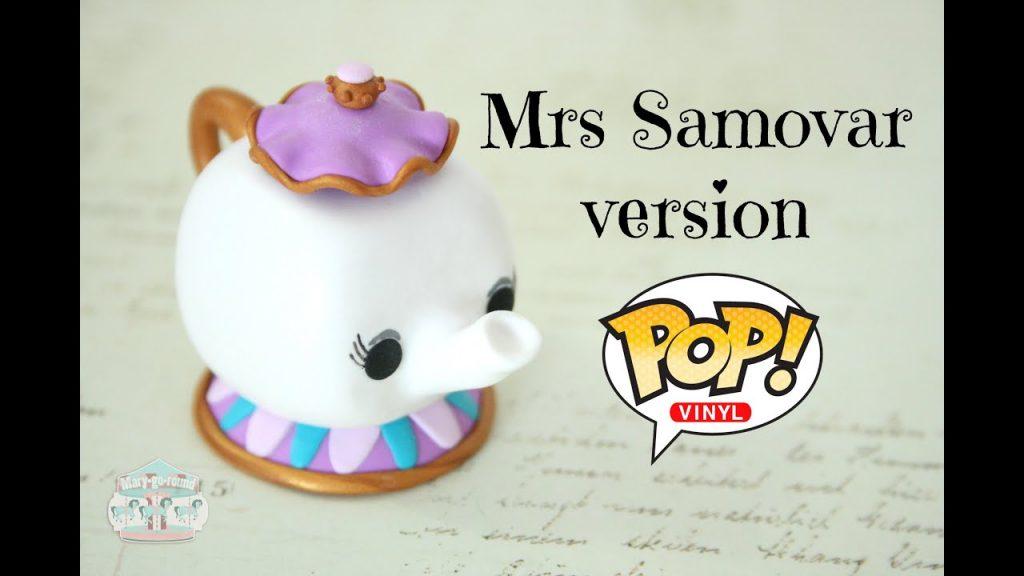 Comment faire Madame Samovar en fimo