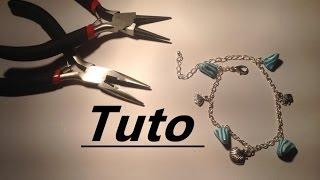 Comment monter un bracelet de breloques en fimo