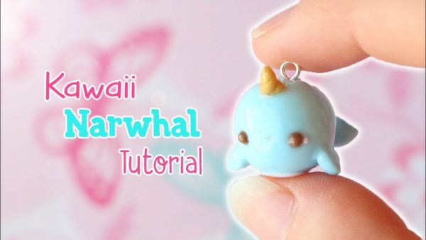 Comment faire un narval kawaii en fimo