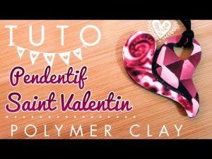Comment faire un pendentif en forme de coeur pour la saint valentin