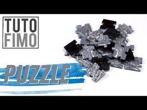 Comment faire un puzzle en fimo ?