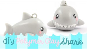 Comment faire un requin kawaii en fimo ?