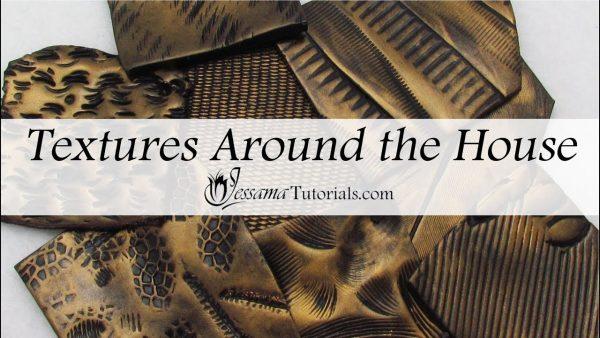 Comment créer des textures en fimo avec des objets du placard