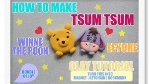 Comment faire des magnets Winnie L'Ourson Tsum Tsum ?