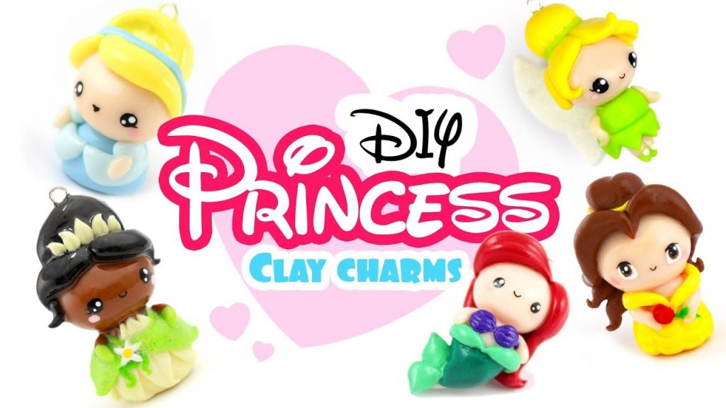 Comment faire des princesses Disney en pâte fimo ?